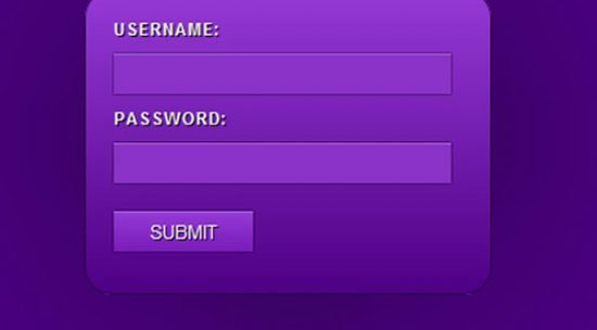 15 Awesome Examples Of CSS3 Form
