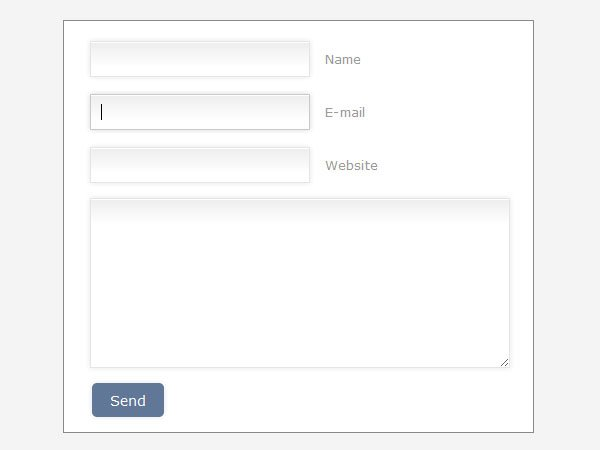 CSS3 form 8