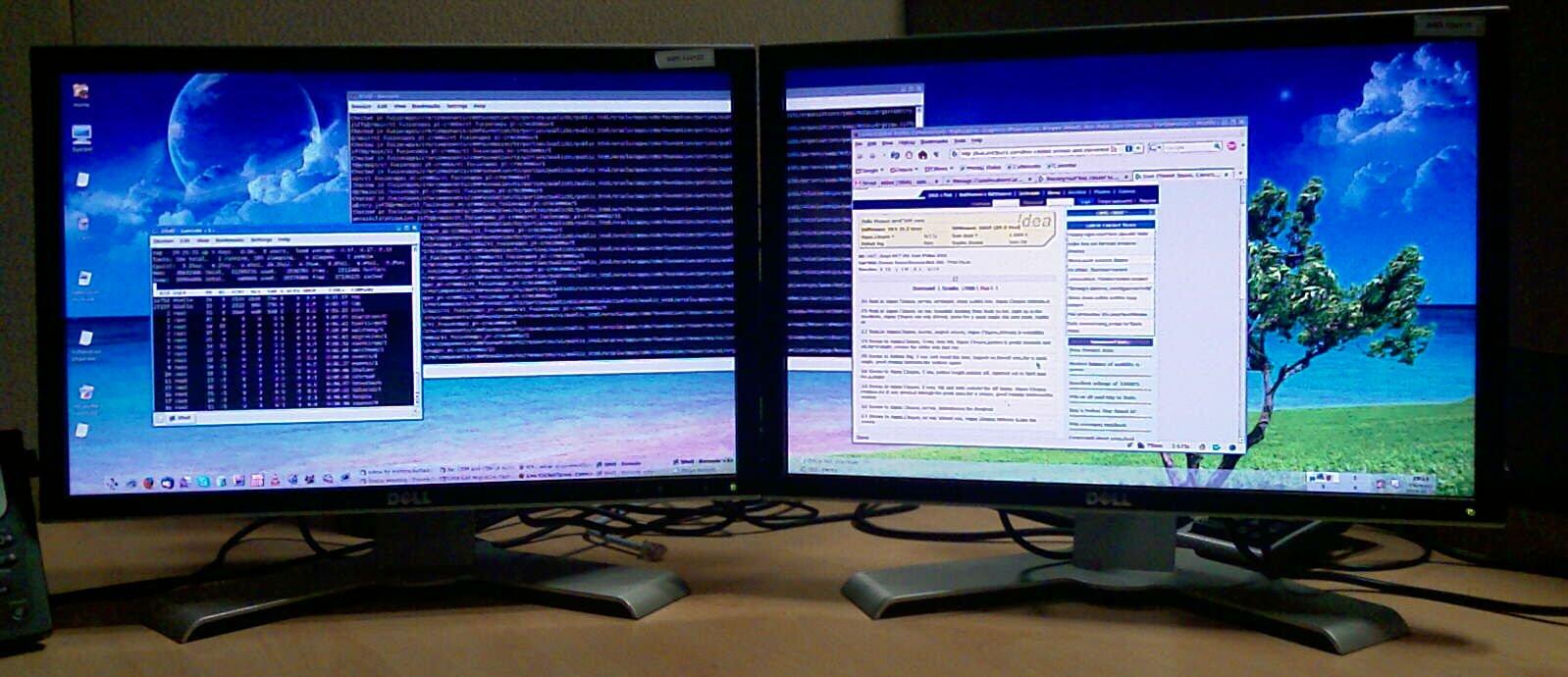Как сделать много экранов