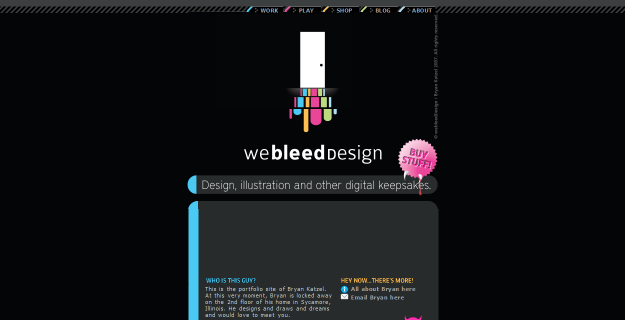 single page websites designs