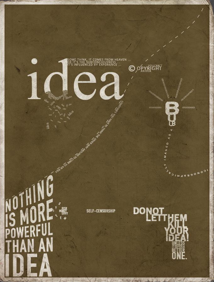 Most Creative typography designs - Best Collectionig (100)