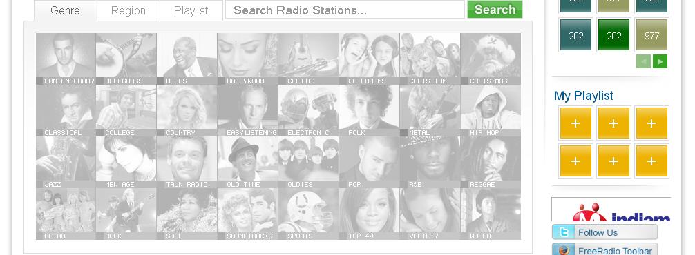 977music internet radio for The fish radio station