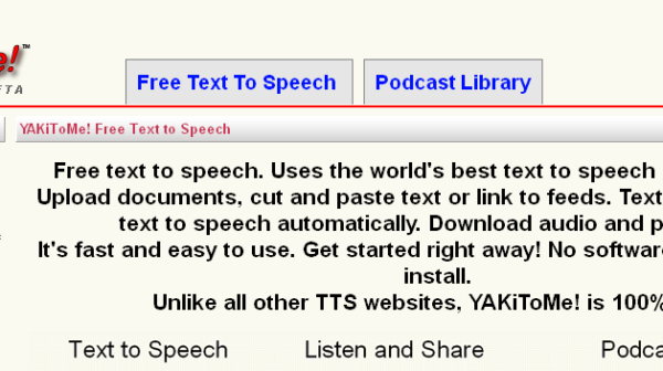 7 Best Websites To Convert Your Text to Speech Free of Cost