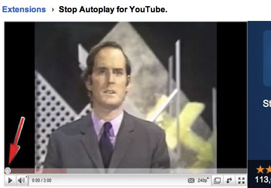 Stop Autoplay for YouTube Top 10 Google Chrome Extension For Hacking YouTube