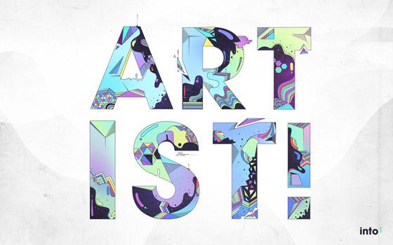 Most Creative typography designs - Best Collectionig (170)
