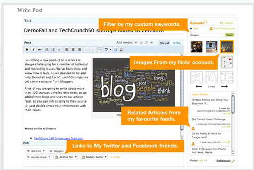 zemanta 20+ Essential Tools and Applications For Bloggers