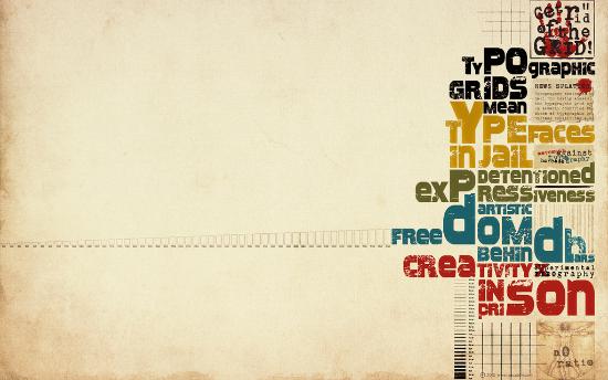 Type Wallpaper