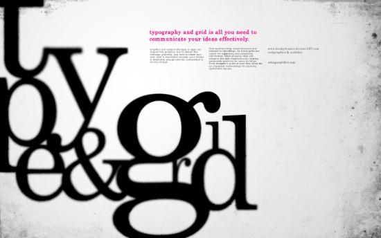 Type & Grid