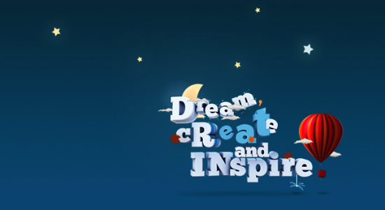 dream create and inspire