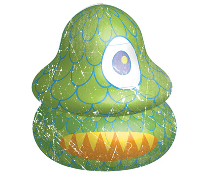 3d creature 35 (More) Adobe Illustrator Cartoon Character Tutorials