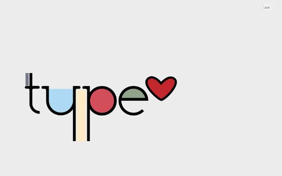 I Love Type Wallpaper
