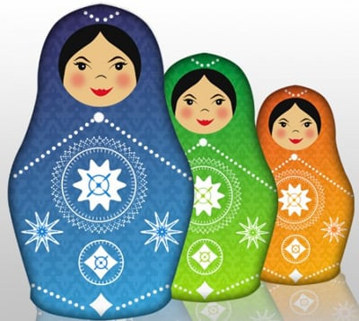 Babushka Doll 35 (More) Adobe Illustrator Cartoon Character Tutorials