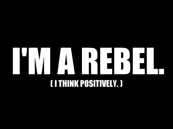 Be A Rebel by Sam 60 Beautiful Minimalist Desktop Wallpapers