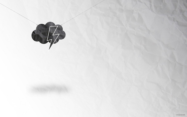 Cloud Minimal by Jan Krogh 60 Beautiful Minimalist Desktop Wallpapers