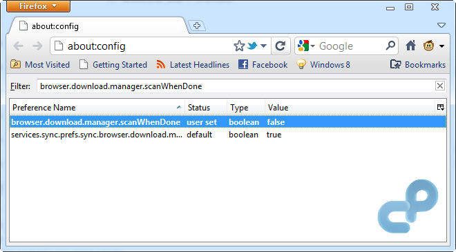 Firefox 4 Scan