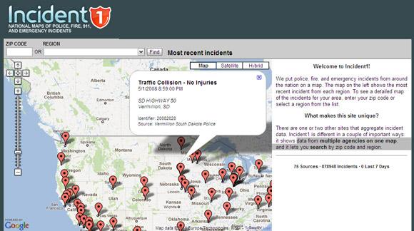 google maps mashup examples