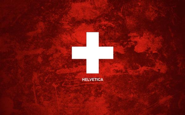 Helvetica Grunge by Oliver Wilke 60 Beautiful Minimalist Desktop Wallpapers