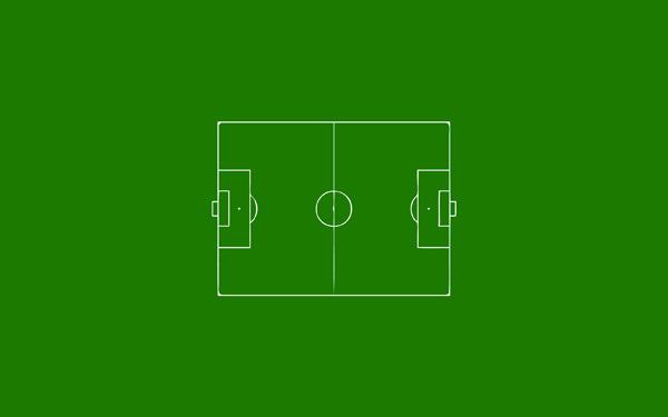 Soccer Field by Sondre Stensbol 60 Beautiful Minimalist Desktop Wallpapers