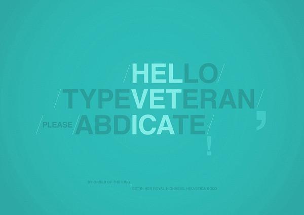 Type Veteran by Radu Ceuca 60 Beautiful Minimalist Desktop Wallpapers