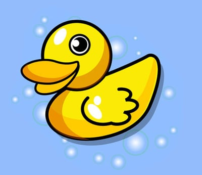 cartoon Duck 80 Excellent Adobe Illustrator Cartoon Tutorials