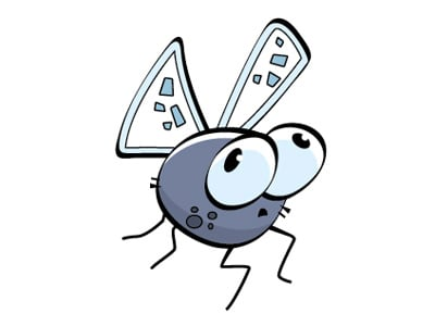 cartoonbug fly 40+ Excellent Adobe Illustrator Cartoon Tutorials