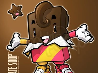 chocolate character 40+ Excellent Adobe Illustrator Cartoon Tutorials