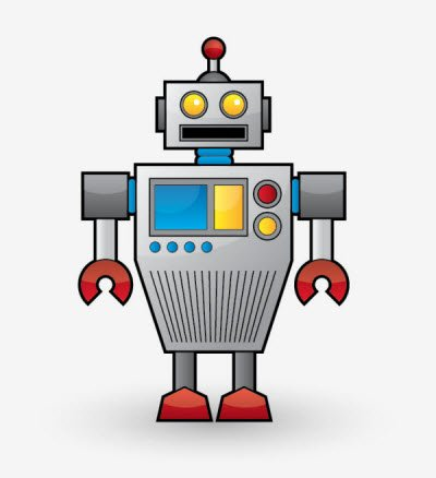 cool vector robot 35 (More) Adobe Illustrator Cartoon Character Tutorials