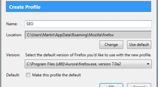 How To Create Multiple FireFox Profiles
