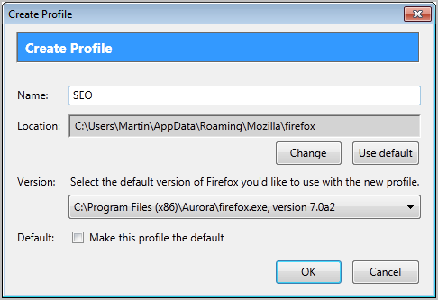 create-firefox-profile