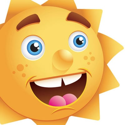 create sun 80 Excellent Adobe Illustrator Cartoon Tutorials