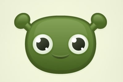 cute alien 35 (More) Adobe Illustrator Cartoon Character Tutorials