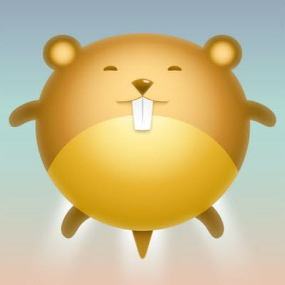 cute hamster avatar 35 (More) Adobe Illustrator Cartoon Character Tutorials