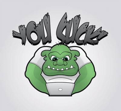 grumpy troll character 80 Excellent Adobe Illustrator Cartoon Tutorials