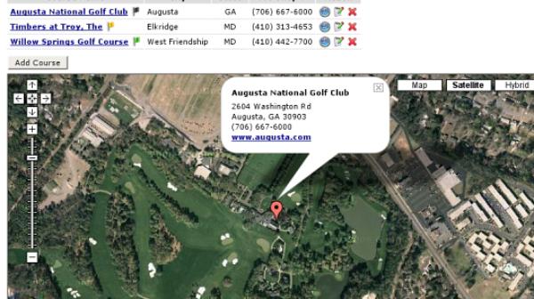 Top 10 Google Maps Mash-up