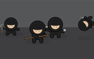 ninja 80 Excellent Adobe Illustrator Cartoon Tutorials
