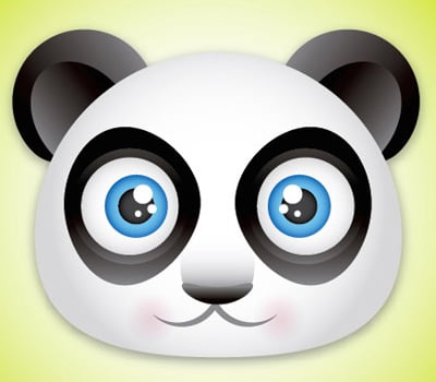 panda 80 Excellent Adobe Illustrator Cartoon Tutorials