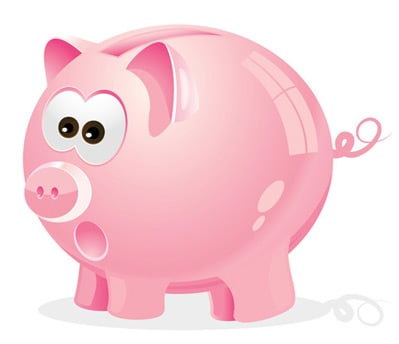 piggy bank 80 Excellent Adobe Illustrator Cartoon Tutorials