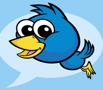 twitter bird 40+ Excellent Adobe Illustrator Cartoon Tutorials
