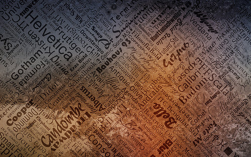 Wallpaper: tarale - Typography