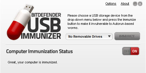 usb immunizer 10 Tools to Protect Computer from Infected USB Flash Drives