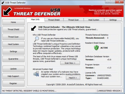 usb threat defender 10 Tools to Protect Computer from Infected USB Flash Drives
