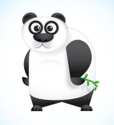 vector panda character 35 (More) Adobe Illustrator Cartoon Character Tutorials