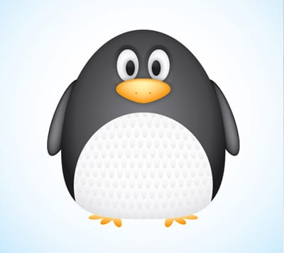 vector penguin 35 (More) Adobe Illustrator Cartoon Character Tutorials