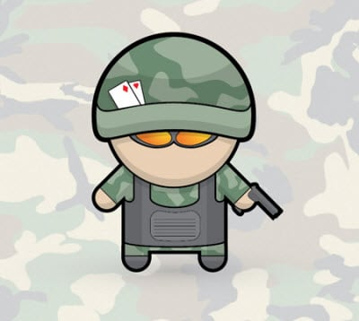 vector soldier 35 (More) Adobe Illustrator Cartoon Character Tutorials