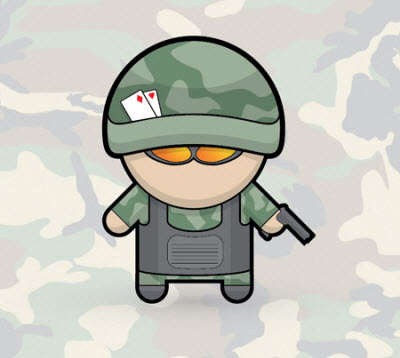 vector soldier 80 Excellent Adobe Illustrator Cartoon Tutorials