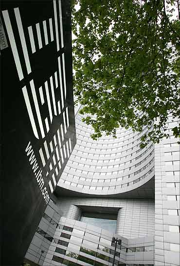 IBM headquarters at la Defense in Paris.