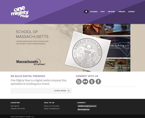 purple color websites