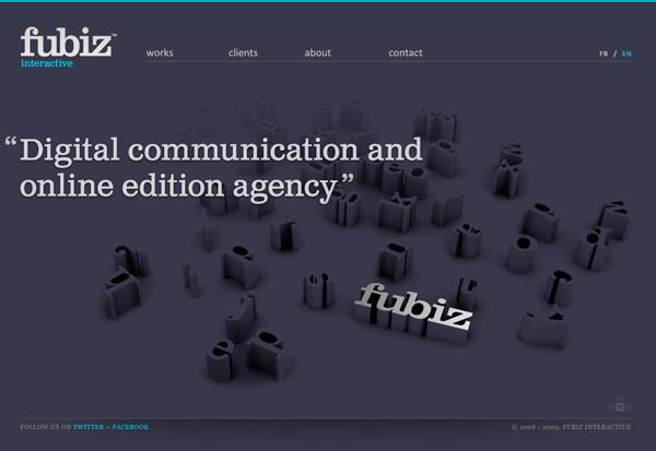 Purple Website Showcase - Fubiz