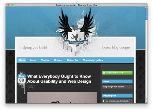 blogwebdesignblog 100 Nice and Beautiful Blog Designs