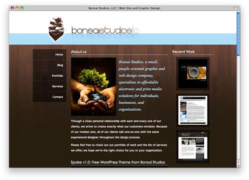 bonsai 100 Nice and Beautiful Blog Designs